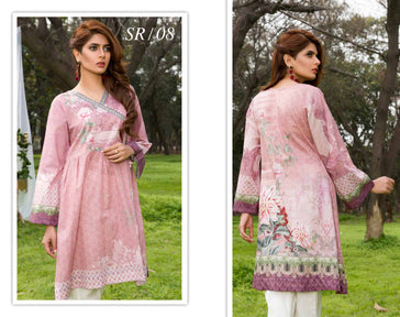 SR-08 - SAFWA PREMIUM LAWN - SERENE COLLECTION - DIGITAL  - SHIRT
