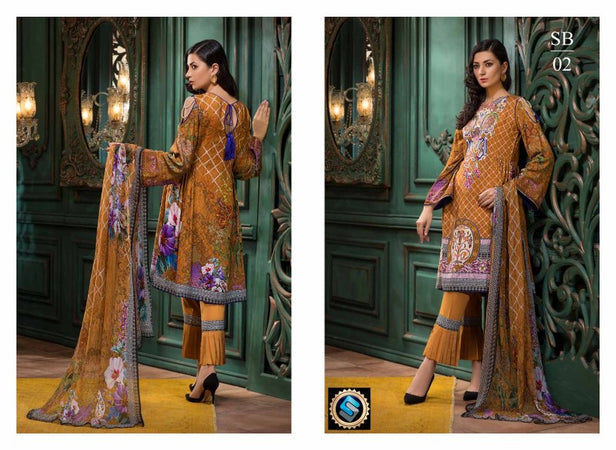 SB-02 - BASHARA COLLECTION vol 1 - 4 PIECE SUIT
