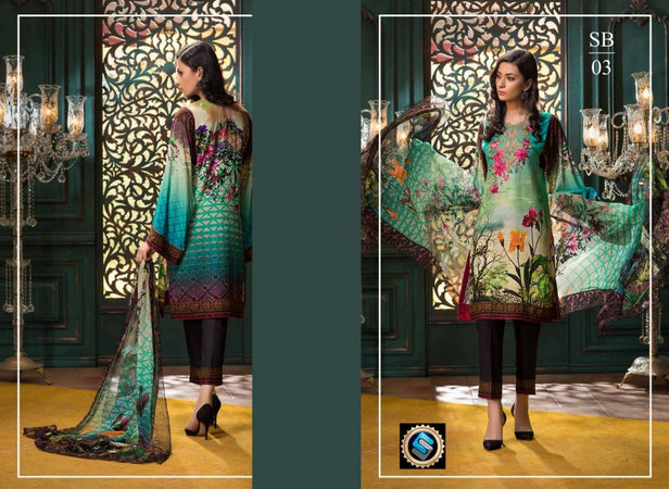 SB-03 - BASHARA COLLECTION vol 1 - 4 PIECE SUIT