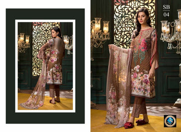 SB-04 - BASHARA COLLECTION vol 1 - 4 PIECE SUIT