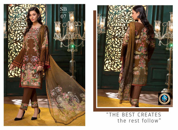 SB-07 - BASHARA COLLECTION vol 1 - 4 PIECE SUIT
