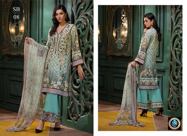 SB-08 - BASHARA COLLECTION vol 1 - 4 PIECE SUIT