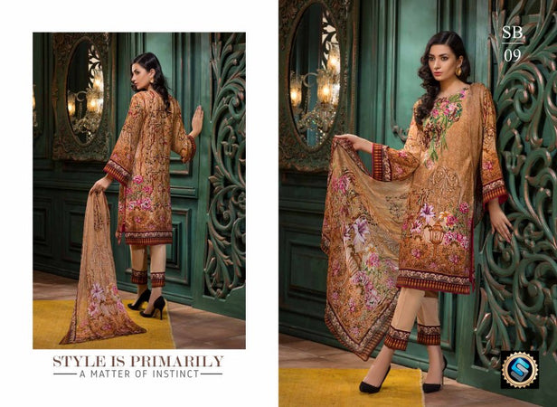 SB-09 - BASHARA COLLECTION vol 1 - 4 PIECE SUIT