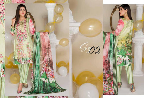 SG-02-GLORY COLLECTION vol 1-3 PIECE SUIT SAFWA Three Piece Suit Dress Design, Pakistani Dresses, Online Shopping in Pakistan