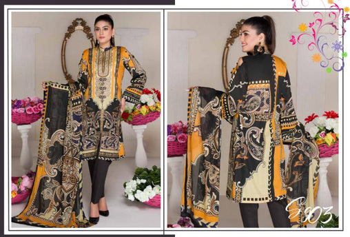SG-03-GLORY COLLECTION vol 1-3 PIECE SUIT SAFWA Three Piece Suit Dress Design, Pakistani Dresses, Online Shopping in Pakistan
