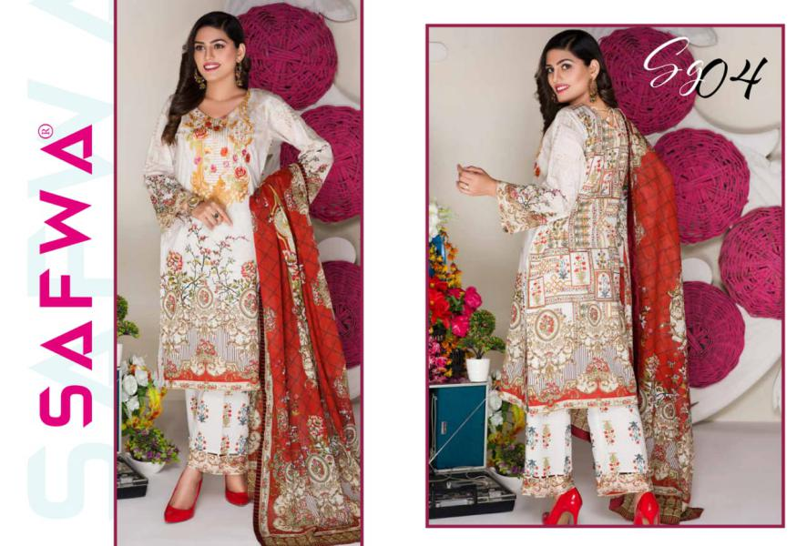 SG-04-GLORY COLLECTION vol 1-3 PIECE SUIT SAFWA Three Piece Suit Dress Design, Pakistani Dresses, Online Shopping in Pakistan