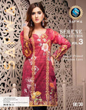 SR/30 - SAFWA PREMIUM LAWN - SERENE COLLECTION - DIGITAL  - SHIRT