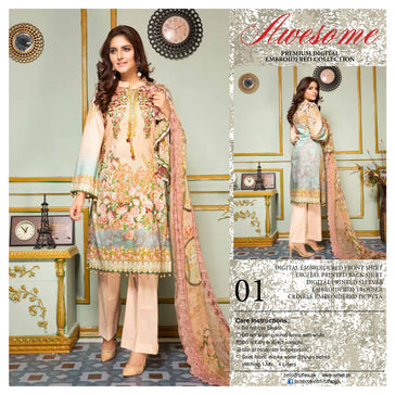 01 - AWESOME COLLECTION vol 2 - 4 PIECE SUIT