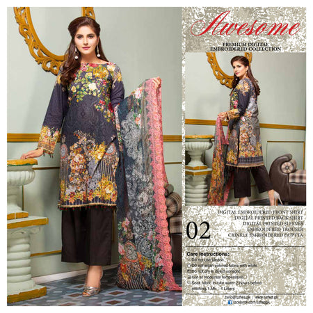 02 - AWESOME COLLECTION vol 2 - 4 PIECE SUIT