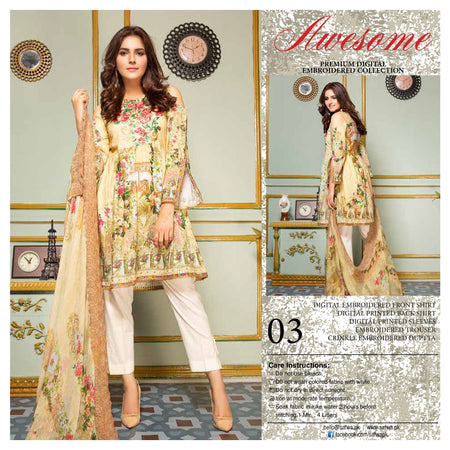03 - AWESOME COLLECTION vol 2 - 4 PIECE SUIT