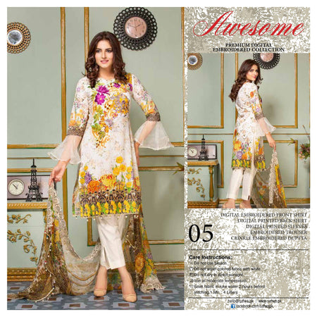 05 - AWESOME COLLECTION vol 2 - 4 PIECE SUIT