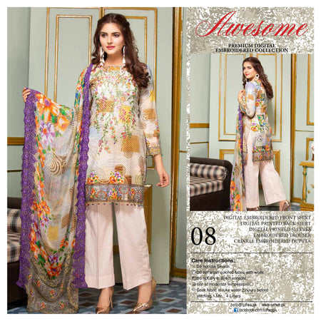08 - AWESOME COLLECTION vol 2 - 4 PIECE SUIT