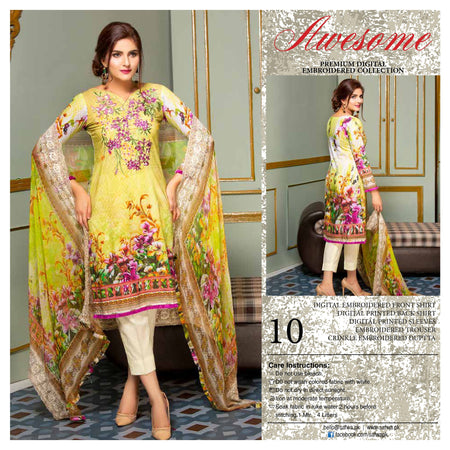 10 - AWESOME COLLECTION vol 2 - 4 PIECE SUIT
