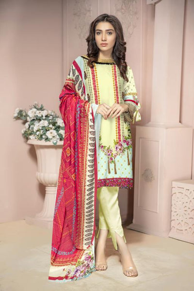 KRR 08 - SAFWA DIGITAL KARANDI-3 PIECE  PRINT COLLECTION -SHIRT Trouser and Duptta |SAFWA DRESS DESIGN| DRESSES| PAKISTANI DRESSES| SAFWA -SAFWA Brand Pakistan online shopping for Designer Dresses