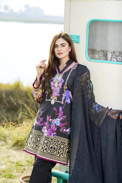 AC-02-SAFWA GLORY COLLECTION Vol 1-3 PIECE SUIT SAFWA Three Piece Suit Dress Design, Pakistani Dresses, Online Shopping in Pakistan