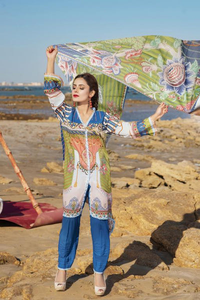 M 07-SAFWA LAWN-MODISH COLLECTION- PRINTED -2 PIECE DRESS - Safwa |Dresses| Pakistani Dresses| Fashion|Online Shopping