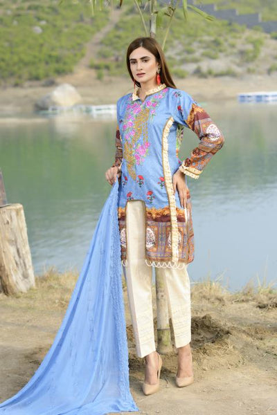 AC-03-SAFWA AWESOME COLLECTION Vol 1-3 PIECE SUIT SAFWA Three Piece Suit Dress Design, Pakistani Dresses, Online Shopping in Pakistan