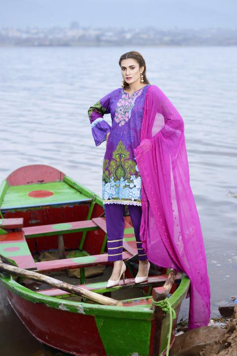 AC-08 -SAFWA AWESOME COLLECTION VOL 1 2020- 3-PIECE DRESS