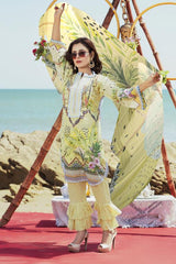 M 08-SAFWA LAWN-MODISH COLLECTION 2020- PRINTED -2 PIECE DRESS