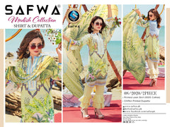 M 08-SAFWA LAWN-MODISH COLLECTION- PRINTED -2 PIECE DRESS - Safwa |Dresses| Pakistani Dresses| Fashion|Online Shopping