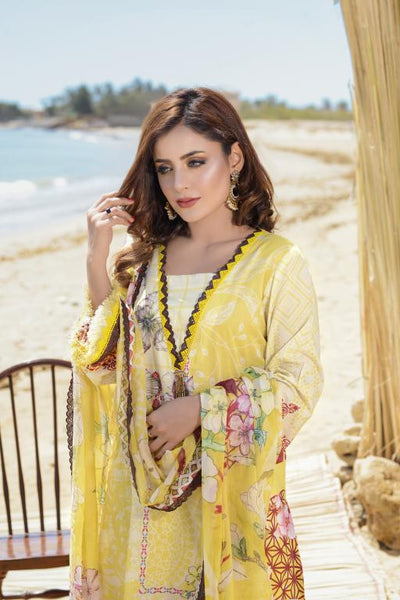 M  01-SAFWA LAWN-MODISH COLLECTION- PRINTED -2 PIECE DRESS - Safwa |Dresses| Pakistani Dresses| Fashion|Online Shopping