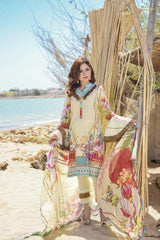 M 05-SAFWA LAWN-MODISH COLLECTION 2020- PRINTED -2 PIECE DRESS