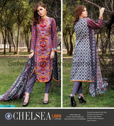 Three Piece Suit - WATERLOO-UNSTITCHED-SAFWA-CL08A