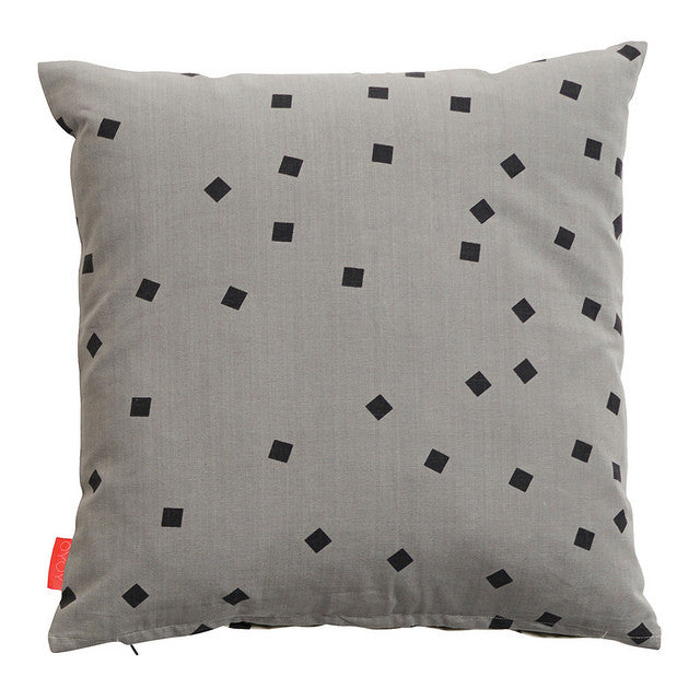 CUSHION- CONFETTI GREY/ WHITE - DOODAH