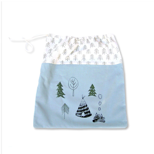 COTTON DRAWSTRING BAG - DOODAH