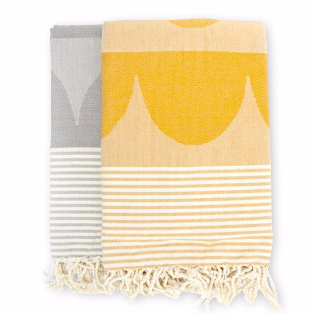 BLANKET- YELLOW/ ORANGE - DOODAH