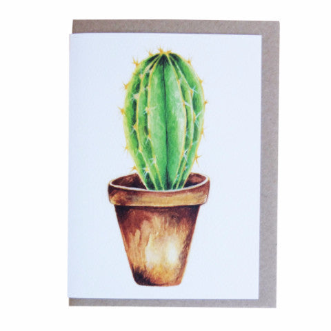 CACTUS CARD LONG SPIKES - DOODAH