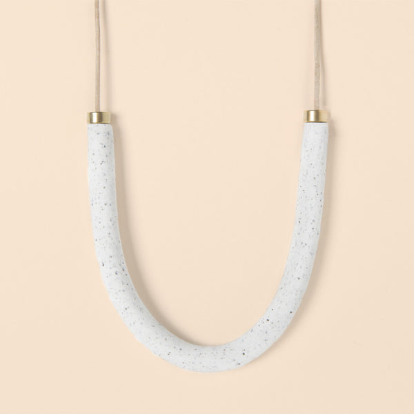MATERIA WHITE NECKLACE - DOODAH
