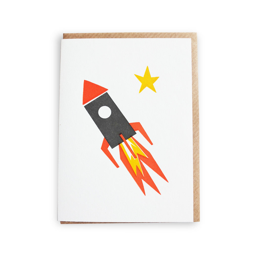 ROCKET MINI LETTERPRESS - DOODAH