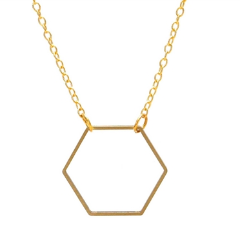HEXAGON NECKLACE - DOODAH