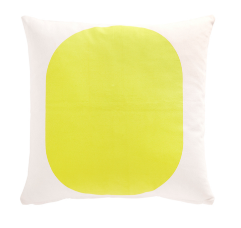 CUSHION- YELLOW JAPANESE - DOODAH