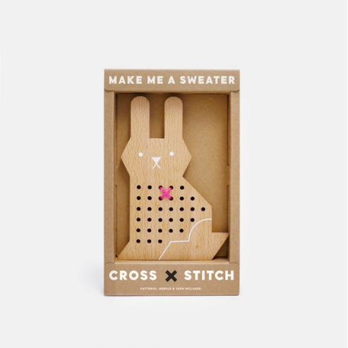 CROSS STITCH FRIENDS- RABBIT - DOODAH