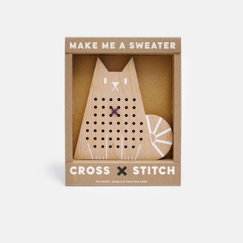 CROSS STITCH FRIENDS- CAT - DOODAH