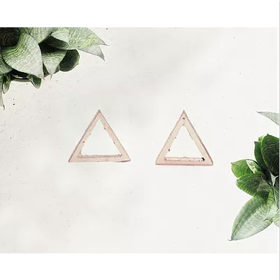 TRIANGLE EARRINGS - DOODAH