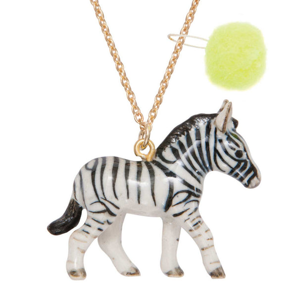 ZEBRA NECKLACE - DOODAH
