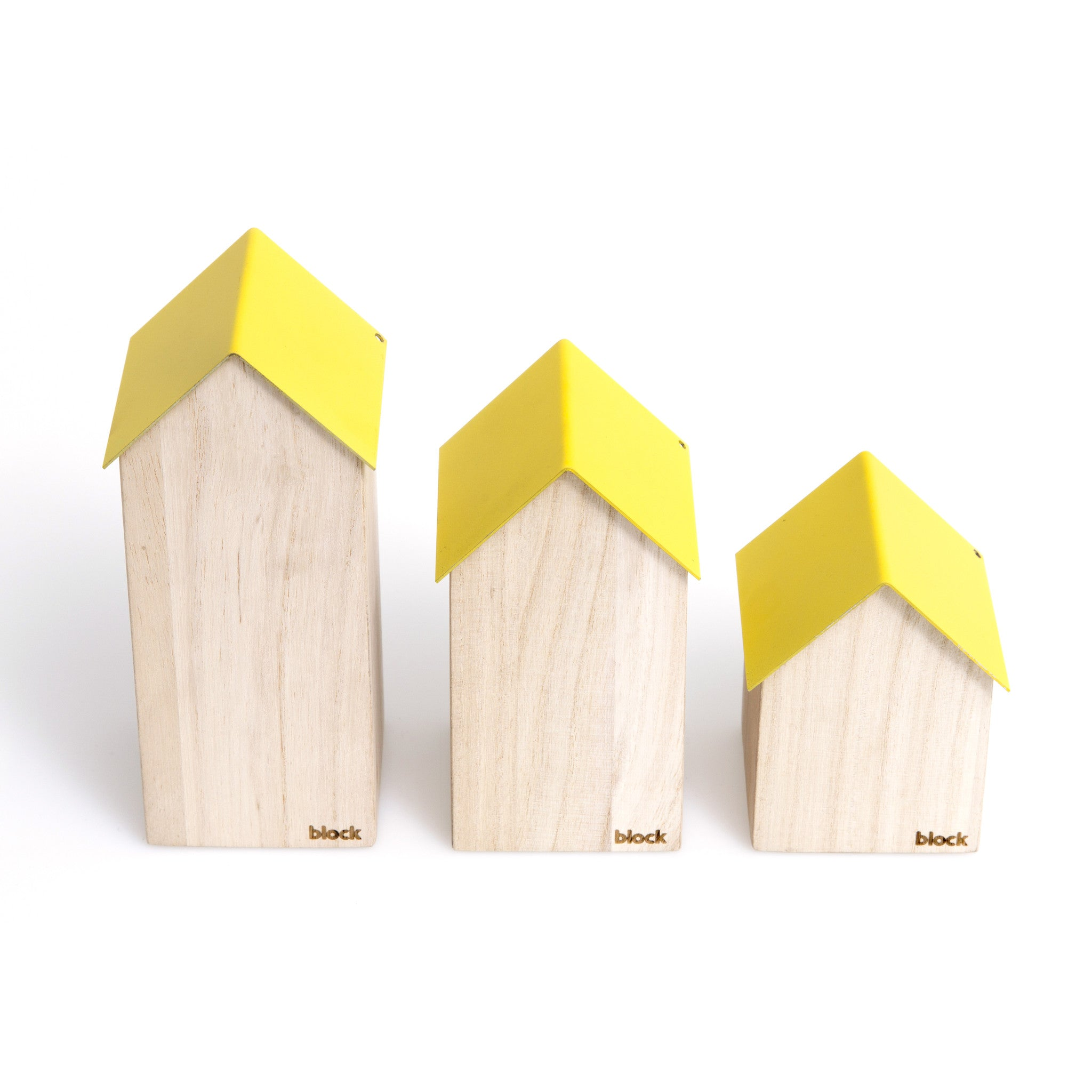 YELLOW STORAGE HOUSE (SMALL) - DOODAH