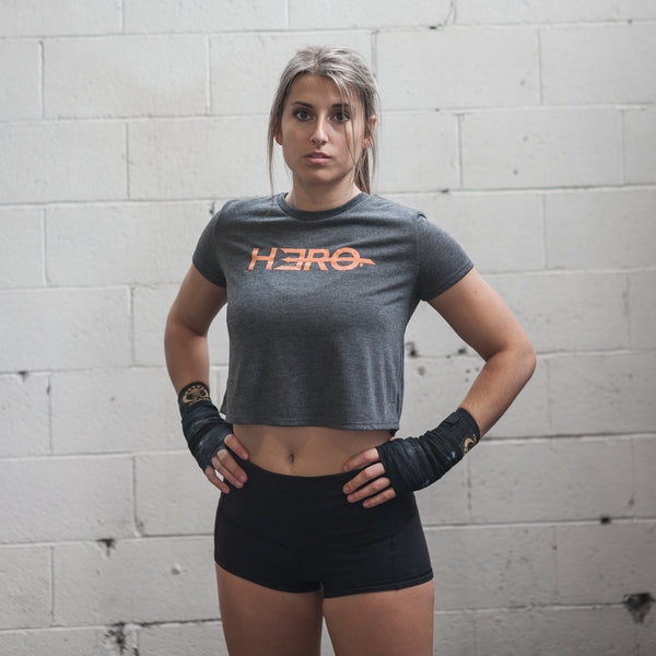 Hero Triblend Crop Top