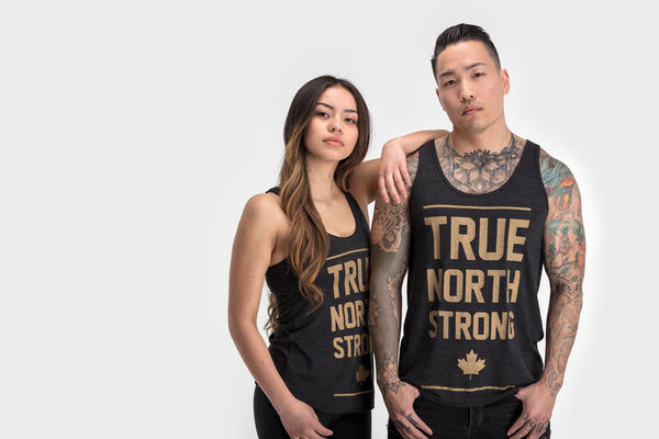 True North Strong Racerback Tank