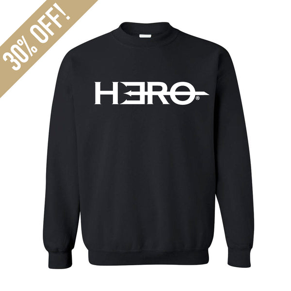Limited Edition - Hero Logo Classic Crewneck Sweater