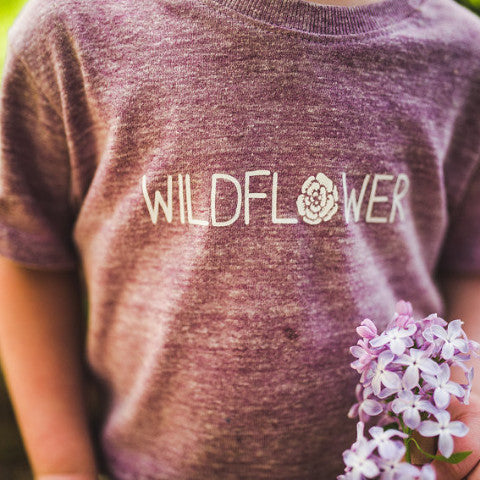 Wildflower Tee | Purple