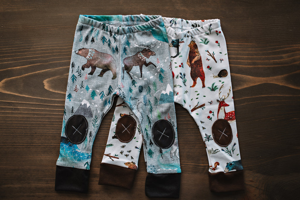 Song of the Yukon  |  Adventure Leggings
