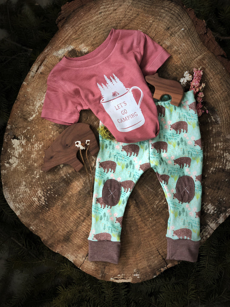 Spring Bears|  Adventure Leggings