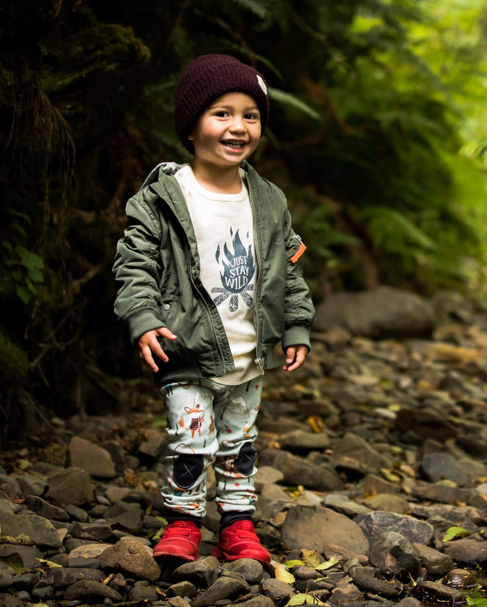 Lumberjack Fox |  Adventure Leggings