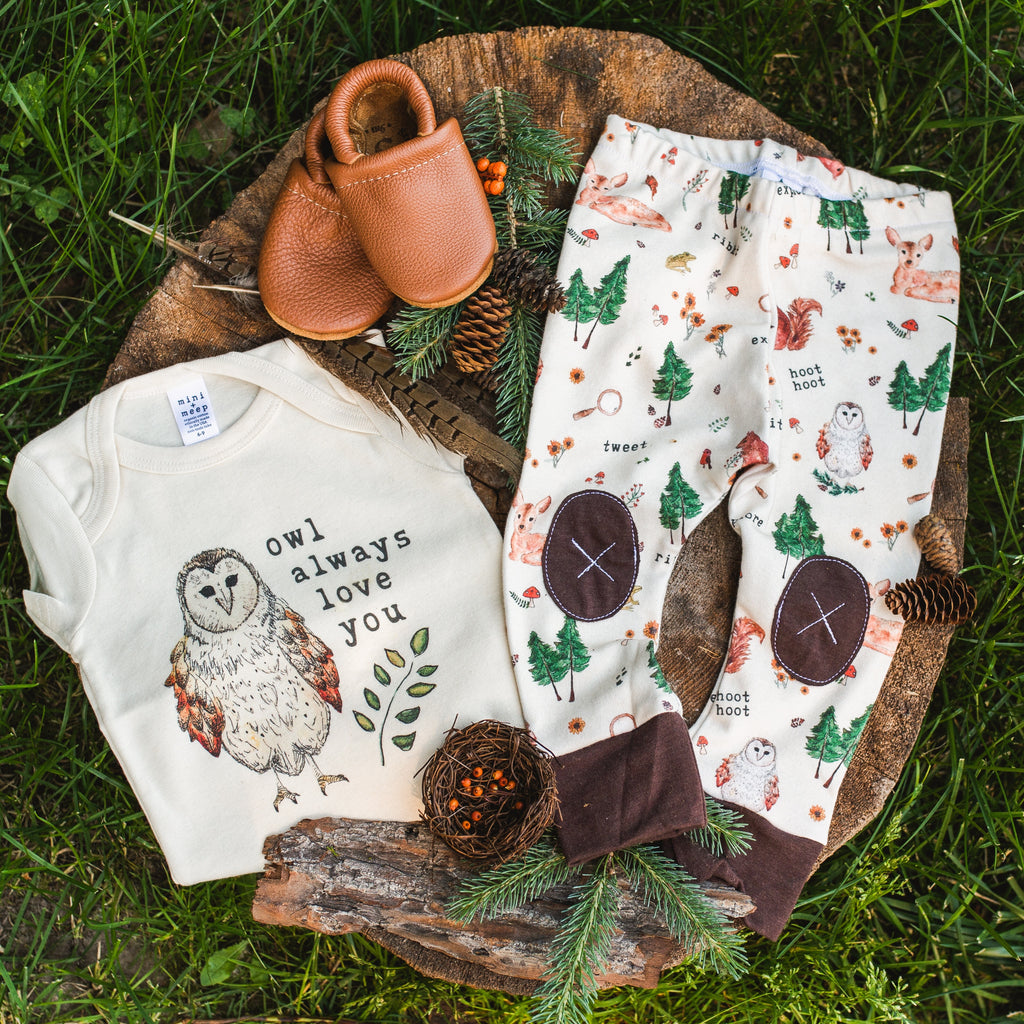 Forest Critters  |  Adventure Leggings