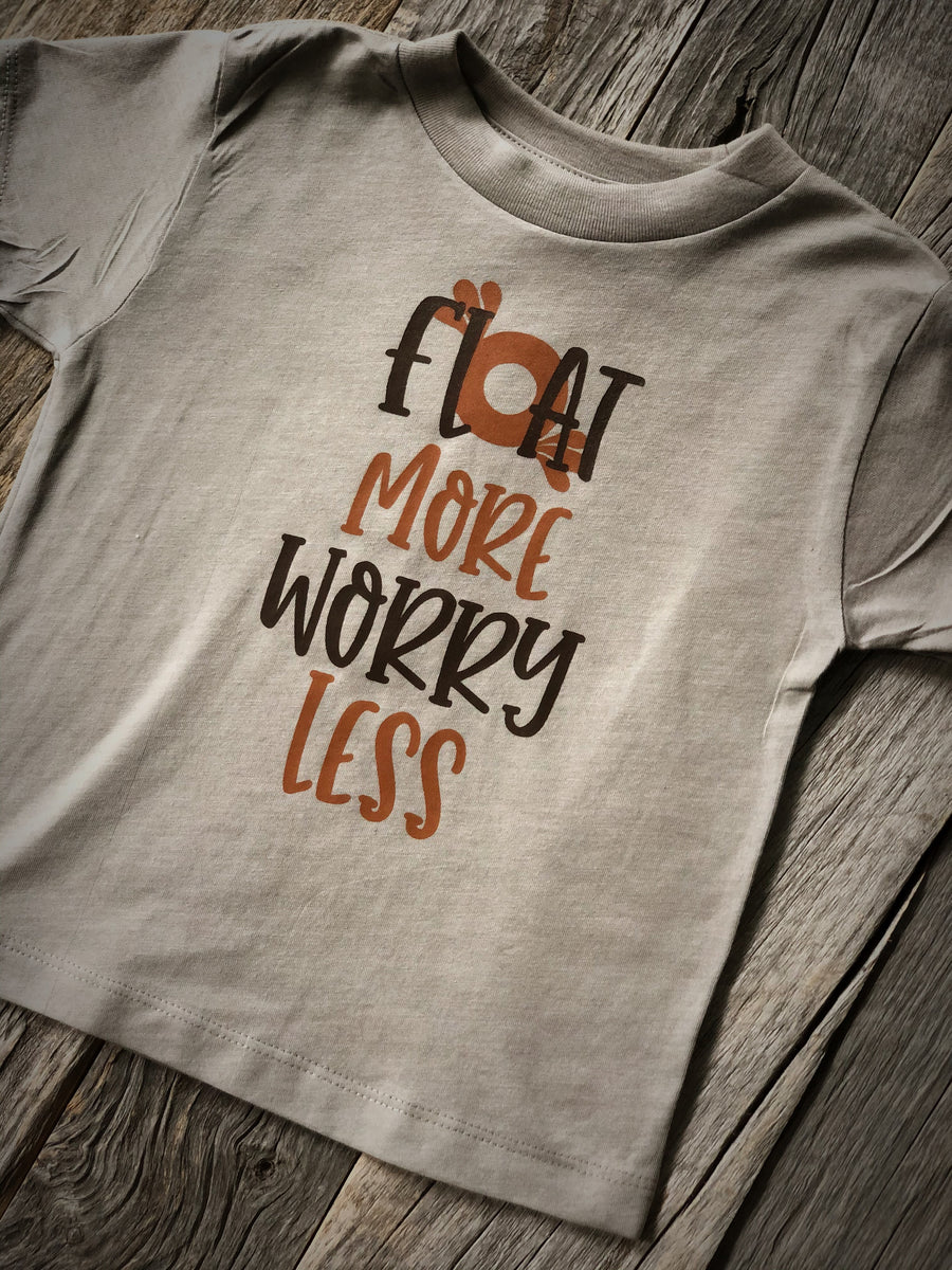 Float More  | Stone Toddler  Tee