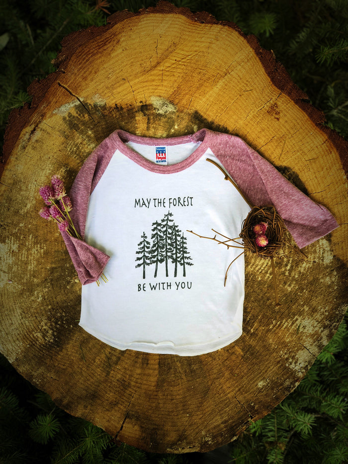 May the Forest  | Violet Tee